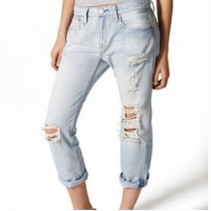 American Eagle Outfitters Jeans - 🌊2/$30🌊AEO Light Wash Boy Crop Jeans